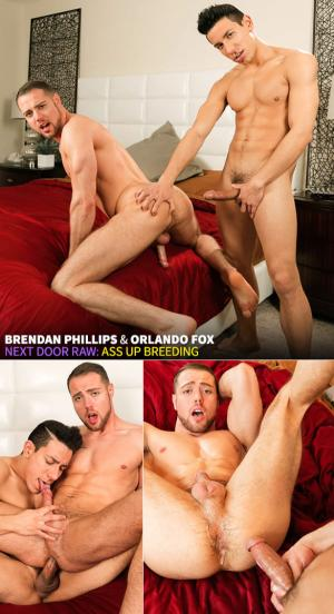 NextDoorRaw – Ass Up Breeding – Brendan Phillips & Orlando Fox – Bareback