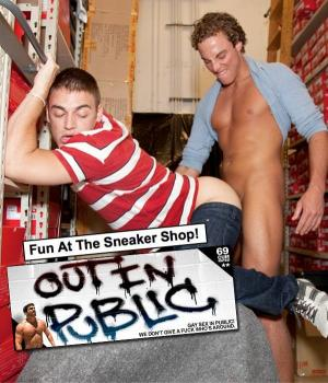 OutInPublic – Fun At The Sneaker Shop