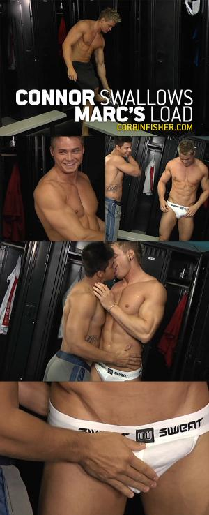 CorbinFisher – Connor Swallows Marc's Load