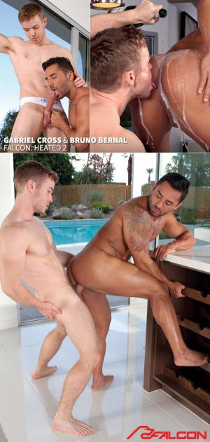 FalconStudios – Heated 2 – Gabriel Cross fucks Bruno Bernal