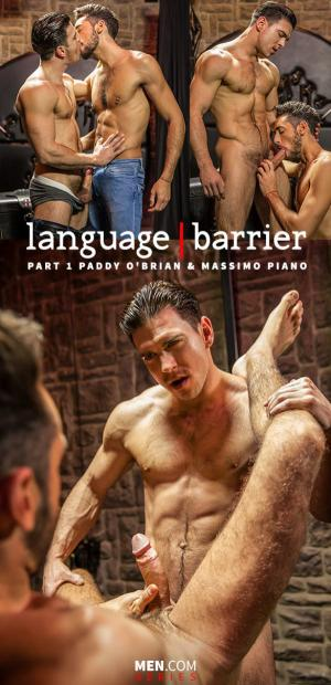 Str8toGay – Language Barrier, Part 1 – Paddy O'Brian bangs Massimo Piano – Men.com