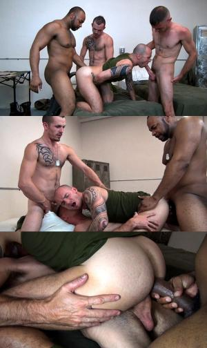 RawFuckClub – Cam Christou Takes Three Big Cocks – Brett Bradley, Ray Diesel, Jimmie Slater & Cam Christou – Bareback