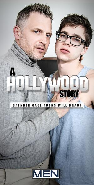 Str8toGay – A Hollywood Story – Part 1 – Brenden Cage Fucks Will Braun – Men.com