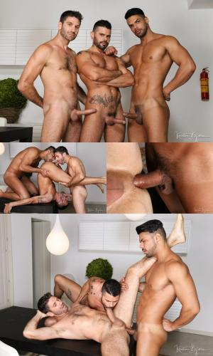 Kristenbjorn – Meat Men – Who Plays First – Craig Daniel, Mario Domenech & Lucas Fox – Bareback