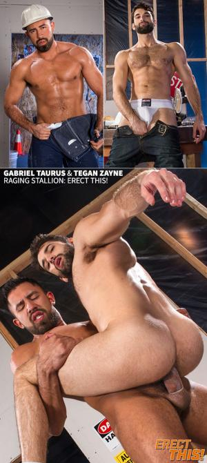 RagingStallion – Erect This! – Gabriel Taurus bangs Tegan Zayne