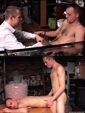 BackRoomFuckers – Shared Space –  Cody March & Clay – Bareback