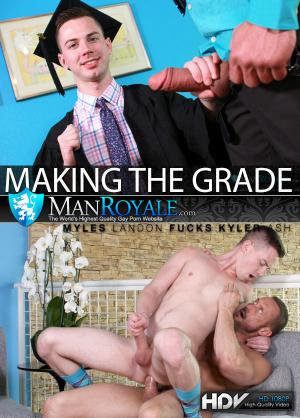 Manroyale – Making The Grade – Myles Landon Fucks Kyler Ash
