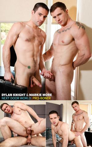 NextDoorBuddies – Pro-Boner – Dylan Knight and Markie More bang each other