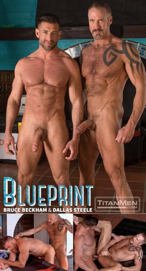 TitanMen – Blueprint – Bruce Beckham and Dallas Steele flip fuck