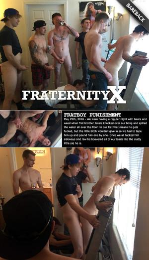 FraternityX – Fratboy Punishment – Bareback