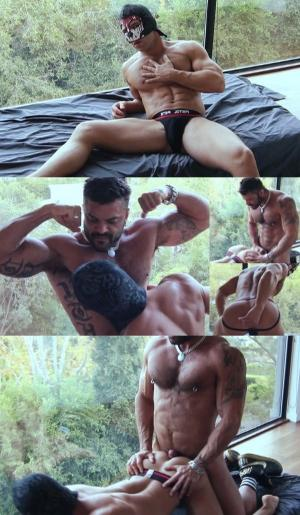 RoganRichards – LA Masks – JR Bronson & Rogan Richards
