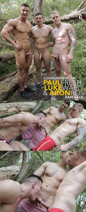 CocksureMen – Paul Fresh and Luke Ward Bareback Aron Ros