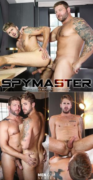 DrillMyHole – Spymaster, Part 2 – Colby Jansen fucks Wesley Woods – Men.com