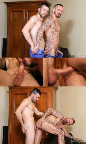 KristenBjorn – Casting Couch #351 – Stephan Raw & Aaron Diaz – Bareback