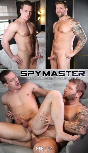 DrillMyHole – Spymaster, Part 3 – Tommy Regan rides Colby Jansen – Men.com