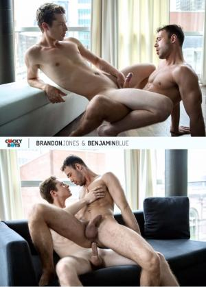 CockyBoys – Brandon Jones and Benjamin Blue Flip Fuck!