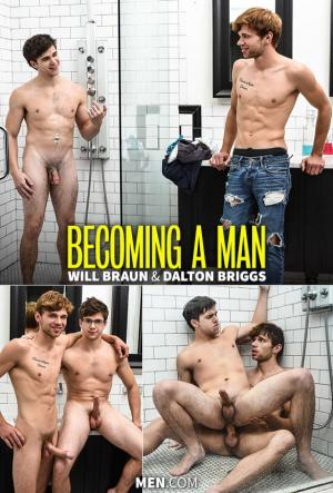 Str8toGay – Becoming a Man – Dalton Briggs fucks Will Braun – Men.com
