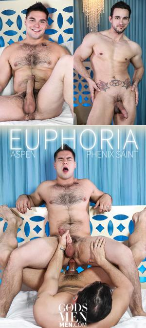 GodsofMen – Euphoria – Phenix Saint pounds Aspen – Men.com