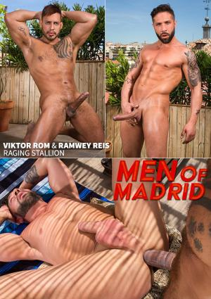 RagingStallion – Men of Madrid – Viktor Rom pounds Ramwey Reis