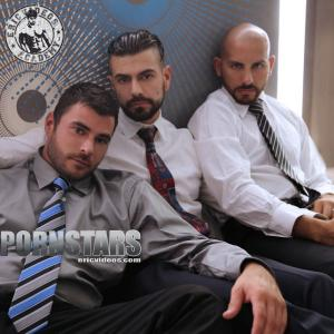 EricVideos – Dominic Sol, Mike Dozer & Antonio Biaggi – Getting Loaded At Lunch Time – Bareback