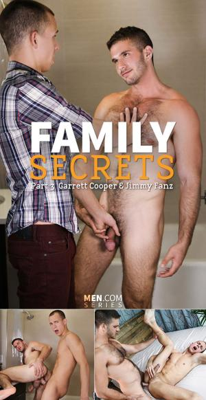 Str8toGay – Family Secrets, Part 3 – Jimmy Fanz and Garrett Cooper fuck each other – Men.com