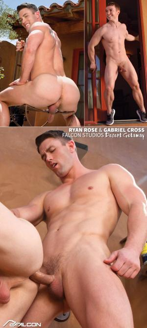FalconStudios – Desert Getaway – Gabriel Cross rides Ryan Rose