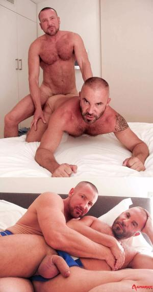 AlphaMales – Hairy Buff Guys Get Deep – Franco Centro & Trojan Rock