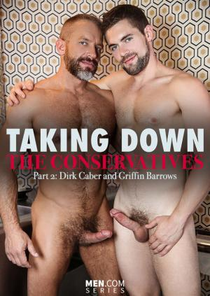 Str8toGay – Taking Down the Conservatives, Part 2 –  Dirk Caber bangs Griffin Barrows – Men.com
