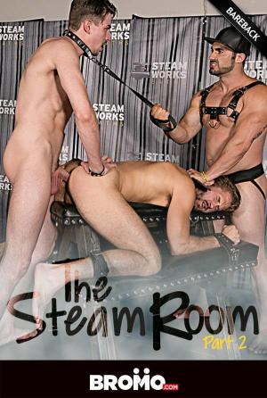 Bromo – The Steam Room, Part 2  – Jaxton Wheeler, Jack Hunter & Wesley Woods – Bareback