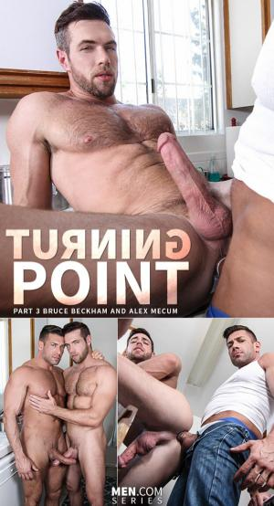 Str8toGay – Turning Point, Part 3 – Bruce Beckham pounds Alex Mecum – Men.com