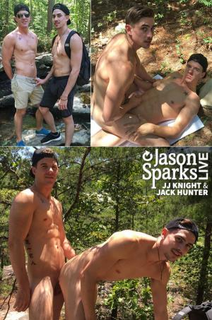 JasonSparksLive – JJ Knight & Jack Hunter BAREBACK in Birmingham