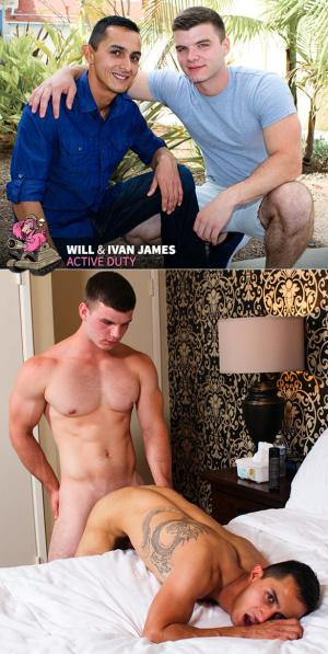 ActiveDuty – Ivan James fucks Will's virgin ass raw