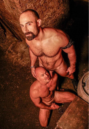 AlphaMales – Hairy Hunx – Butch Grand & Ray Stone