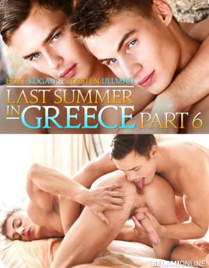 BelAmiOnline – Last Summer in Greece, Part 6 – Hoyt Kogan barebacks Torsten Ullman