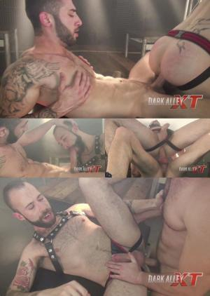 DarkAlleyXT – Big Dick Frenzy – Angel Garcia & Alejandro Torres – Bareback