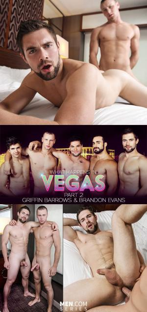 Str8toGay – What Happens in Vegas, Part 2 – Brandon Evans fucks Griffin Barrows – Men.com