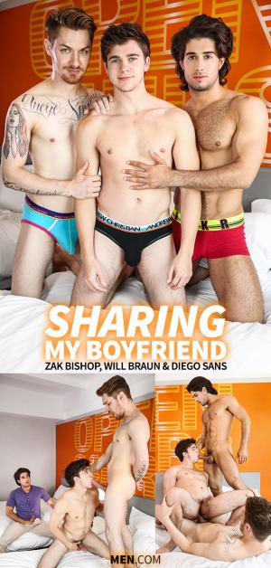 DrillMyHole – Sharing My Boyfriend – Diego Sans & Zak Bishop tag team Will Braun – Men.com