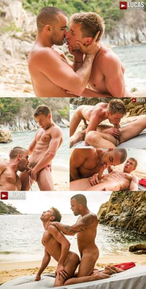 Lucas Entertainment – Damien Crosse Barebacks Bogdan Gromov's Ass