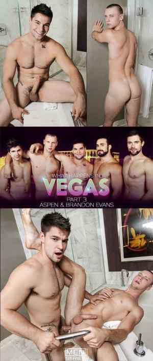 Str8toGay – What Happens in Vegas Part 3 – Aspen bangs Brandon Evans – Men.com