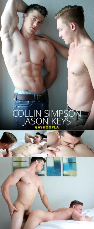 GayHoopla – Collin Simpson bangs Jason Keys
