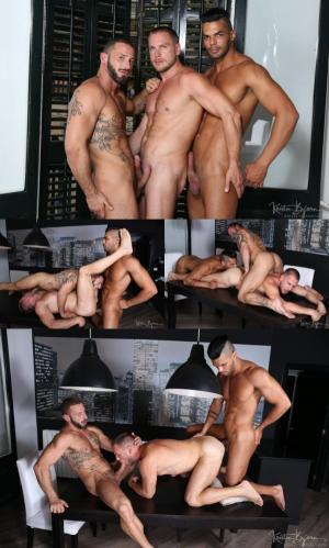 KristenBjorn – Hot Stuff: Nightfall Sex – Hans Berlin, Antonio Miracle & Lucas Fox – Bareback