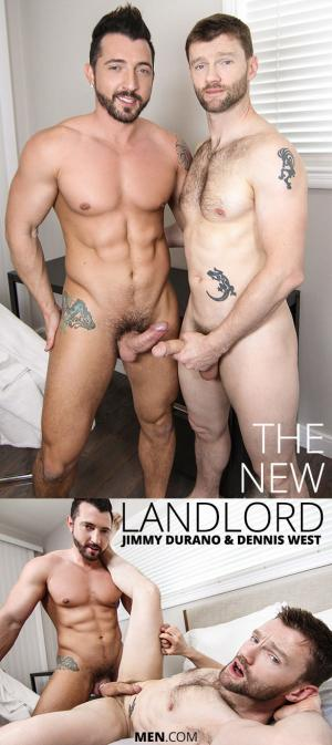 DrillMyHole – The New Landlord – Jimmy Durano fucks Dennis West – Men.com