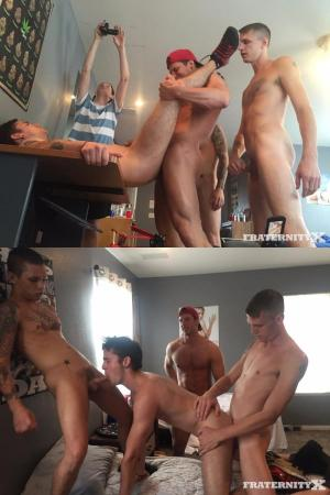 FraternityX – Loaded Hole – Bareback