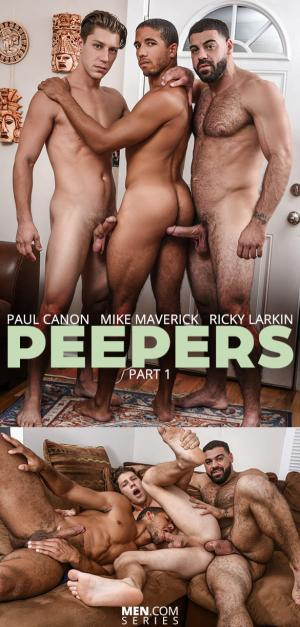 DrillMyHole – Peepers Part 1 – Paul Canon & Mike Maverick bottom for Ricky Larkin  – Men.com