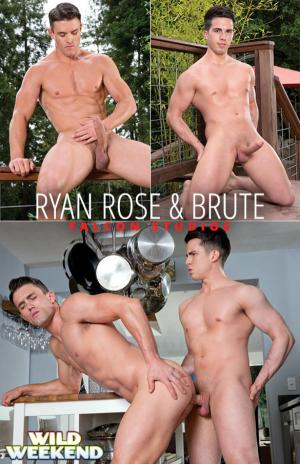 FalconStudios – Wild Weekend – Part 1 – Ryan Rose gets fucked by Brute
