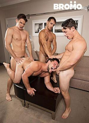 Bromo – Str8 Bitch Part 4 – Aspen, Addison Graham, Evan Marco & Tobias – Bareback