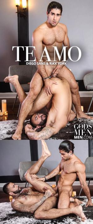Gods of Men – Te Amo – Diego Sans & Rikk York – Men.com