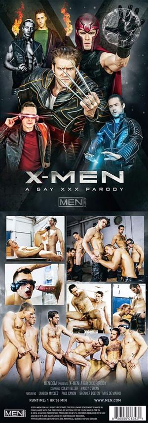 Men.com – X-Men: A Gay XXX Parody – DVD