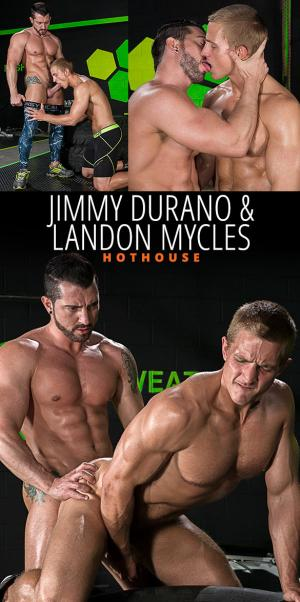HotHouse – The Trainer – Jimmy Durano pounds Landon Mycles