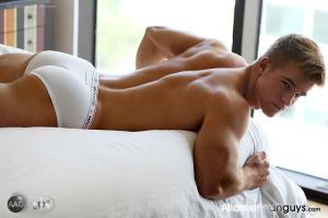 AllAmericanGuys – Alex C. sporting his sexy Calvins